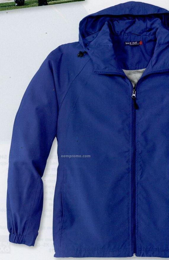 Sport-tek Youth Hooded Raglan Jacket (Xs-xl)