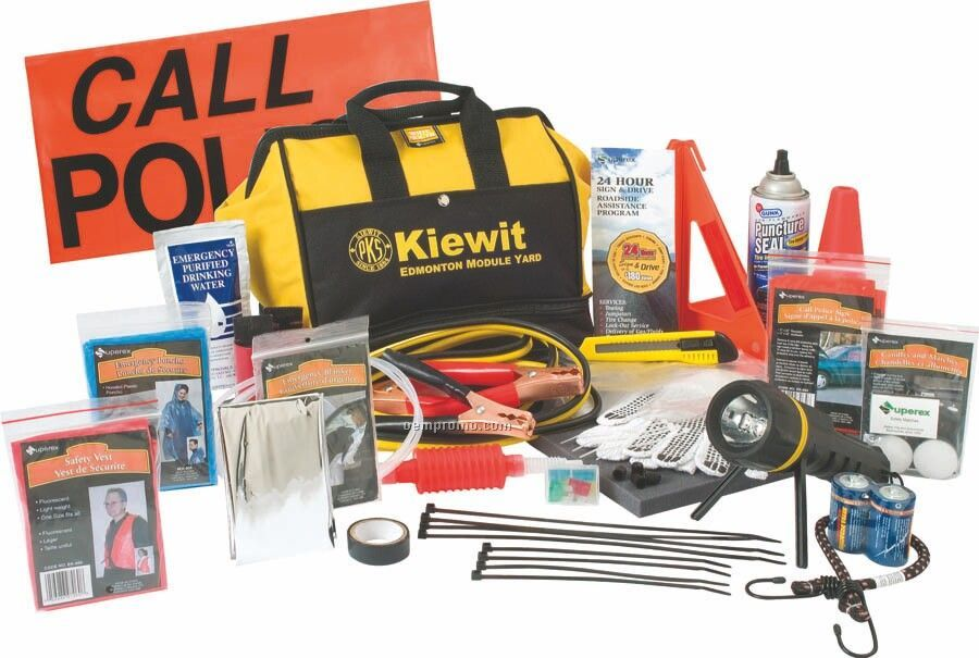Widemouth Deluxe Emergency Kit