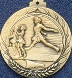 "2.5"" Stock Cast Medallion (Cheer Jump)"