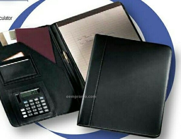 Pad Holder With Calculator