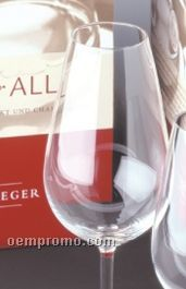 Set Of 4 18 Oz. One For All Magnum Tasting Glass By Peter Steger