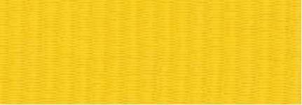 "Snap Clip ""V"" Neck Ribbon 1-1/2""X32"" - Yellow"