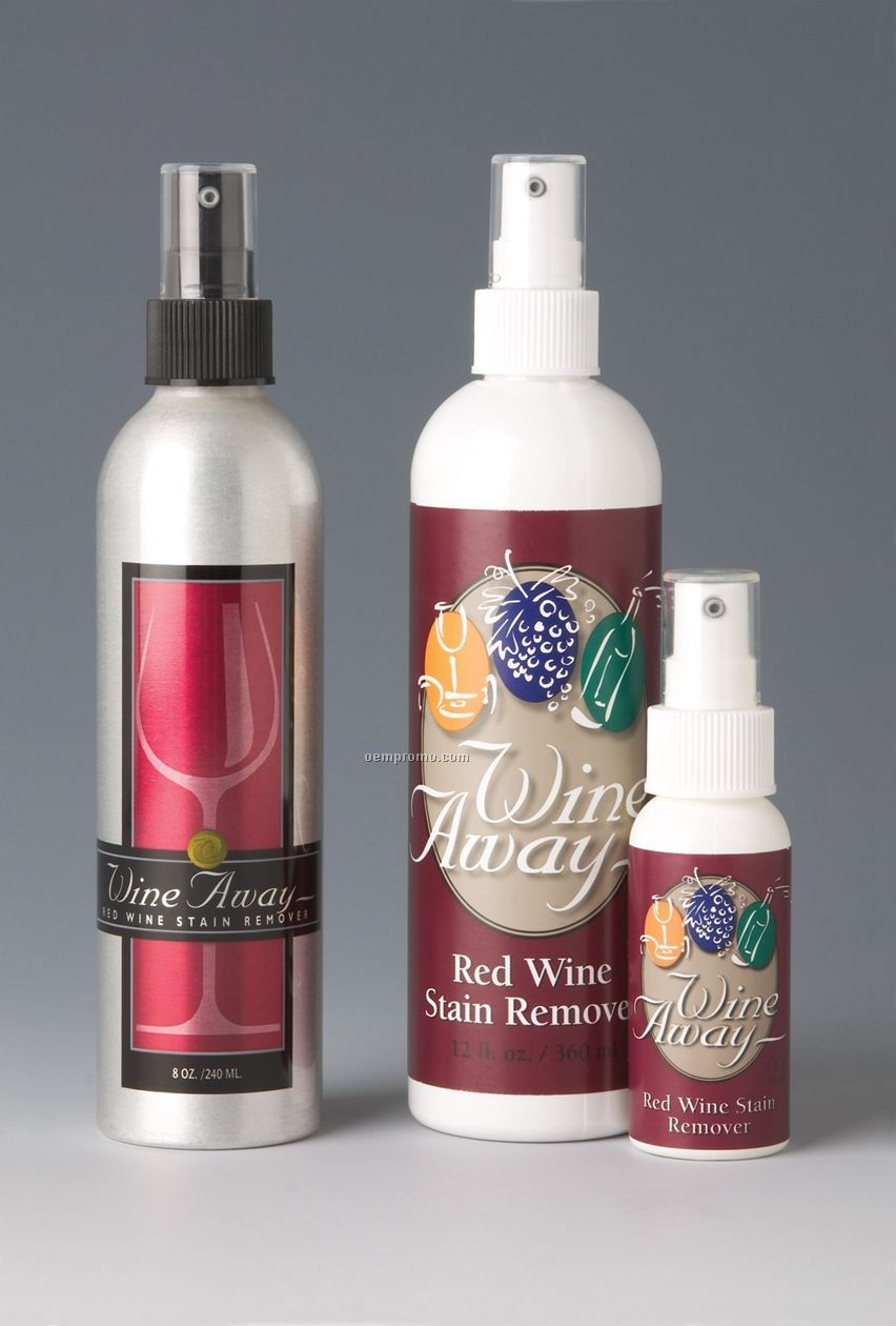wine away red wine stain remover 8 oz brushed aluminum spray container china wholesale wine. Black Bedroom Furniture Sets. Home Design Ideas