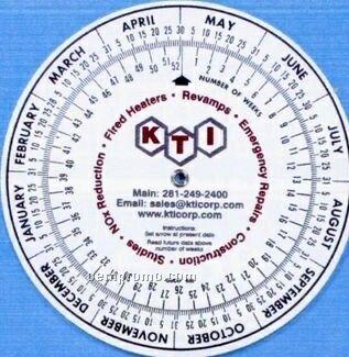"4"" Circular Metric Converter Calculator"