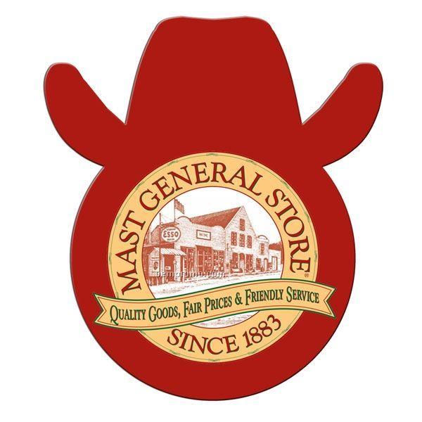 Cowboy Stock Shape Fan