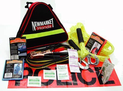 Roadside Assistance Kit - 25 Pieces