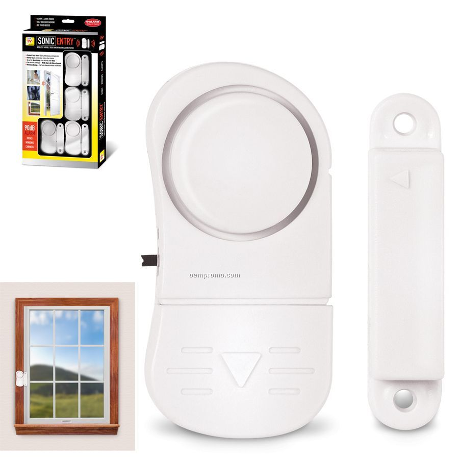 Entry Window Alarms 4 Pack