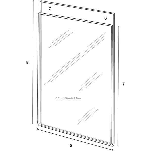 Wall Frame For 4'' W X 6'' H W/Holes