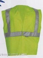 Yellow Budget Class II Traffic Safety Vests (3xl-4xl)
