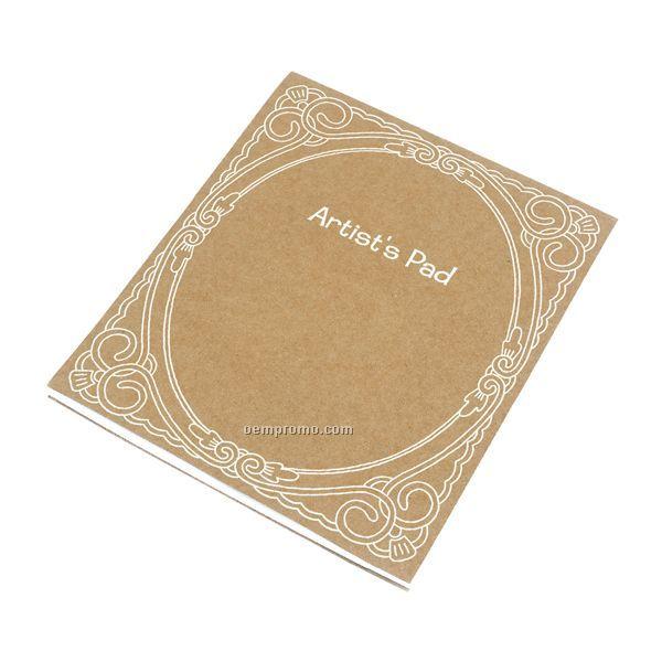 Elegant Oval Artist's Pads