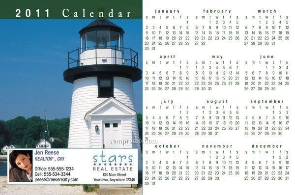 """Jumbo 2010 Calendar Postcards (8-1/2"""" X 5-1/2"""")"""