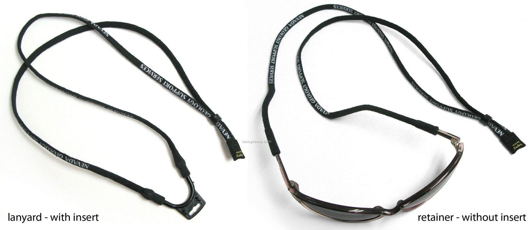 Micro Suiter Combo Lanyard & Eyewear Retainer Strap