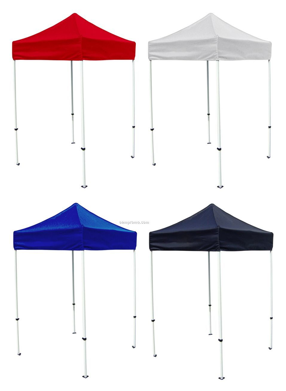 5x5 Pop Up Canopy Tent W/ Steel Frame (No Art)