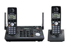 Panasonic Cordless Handset 2 Line Operation Telephone