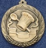 "2.5"" Stock Cast Medallion (Culinary Arts)"