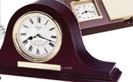 Annette Wood Case Melody Clock