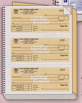Classic Collection Receipt Book (2 Part)