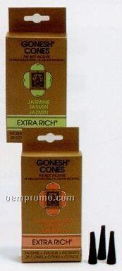Gonesh Extra Rich Incense Cones Cinnamon
