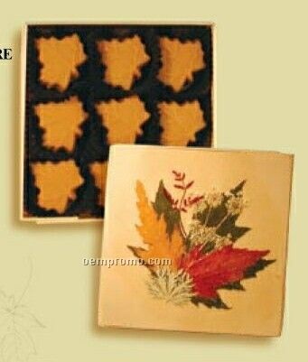 How Sweet Maple Chocolate Peanuts In Square Box (Hot Stamp)