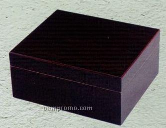 "Spanish Cedar Lined Humidor (10""X8.5""X4.25"")"