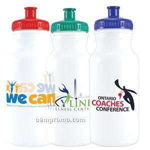 20 Oz. E Volve Biodegradable Plastic Water Bottle