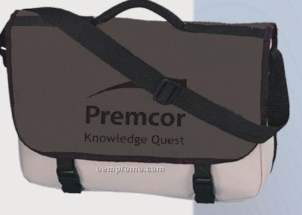 600 Denier Polyester Accent Courier Pouch