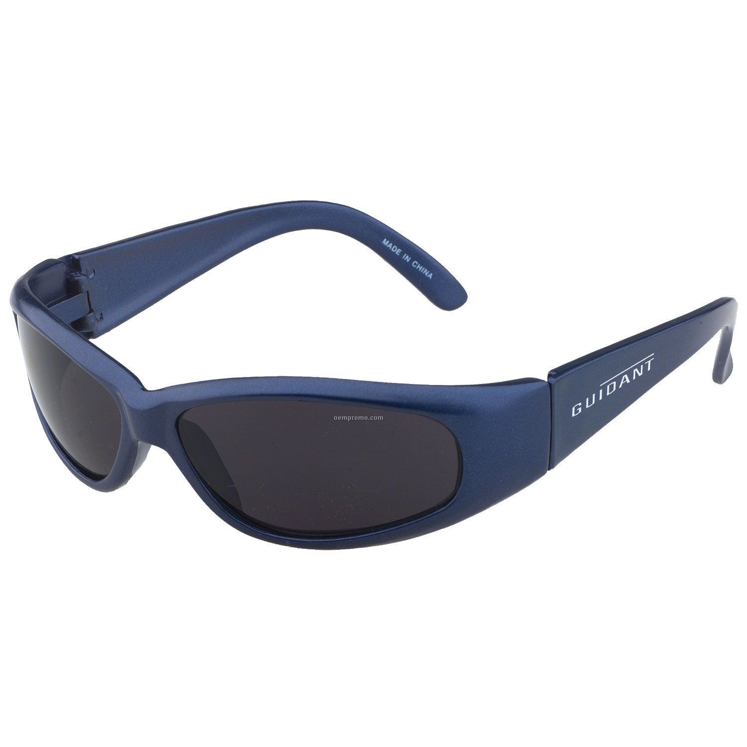Racer Wrap - Hot Blue Silk Frame Sunglasses
