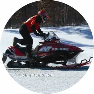 "Photo Mylar Insert - 2"" Snowmobile"