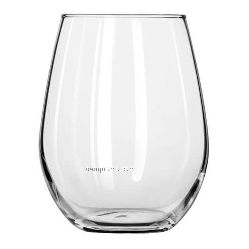12 Oz. Libbey Stemless White Wine Glass
