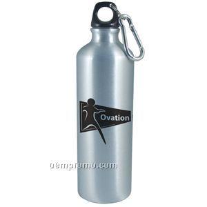 25 Oz Stainless Steel Bottle W/ Carabiner (Overseas 8-10 Weeks)