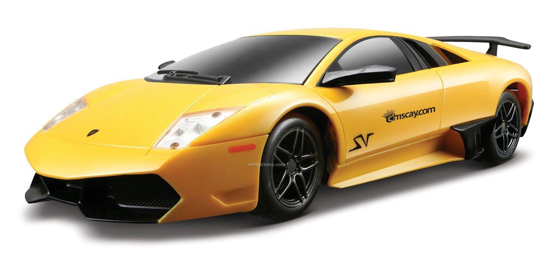 """1/24 Scale 7"""" Remote Control Car Lamborghini Murci Lago Lp 670-4 Sv"""
