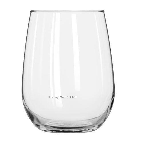17 Oz. Libbey Stemless White Wine Glass