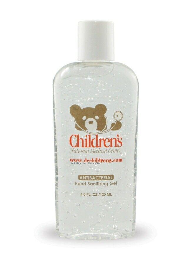4 Oz. Antibacterial Gel Hand Sanitizer (Alcohol)