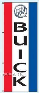 Single Face Dealer Rotator Drape Flags - Buick