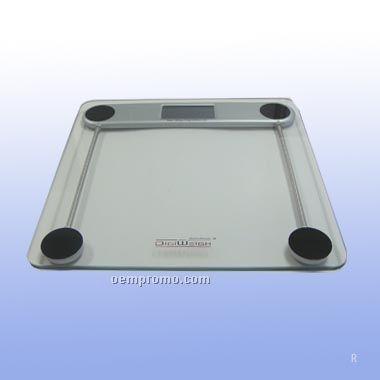 Tempered Glass Super Slim Body Scale