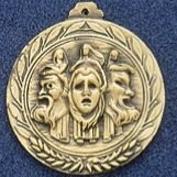 "2.5"" Stock Cast Medallion (Drama)"