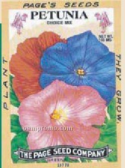 Antique Series Petunia Flower Seeds
