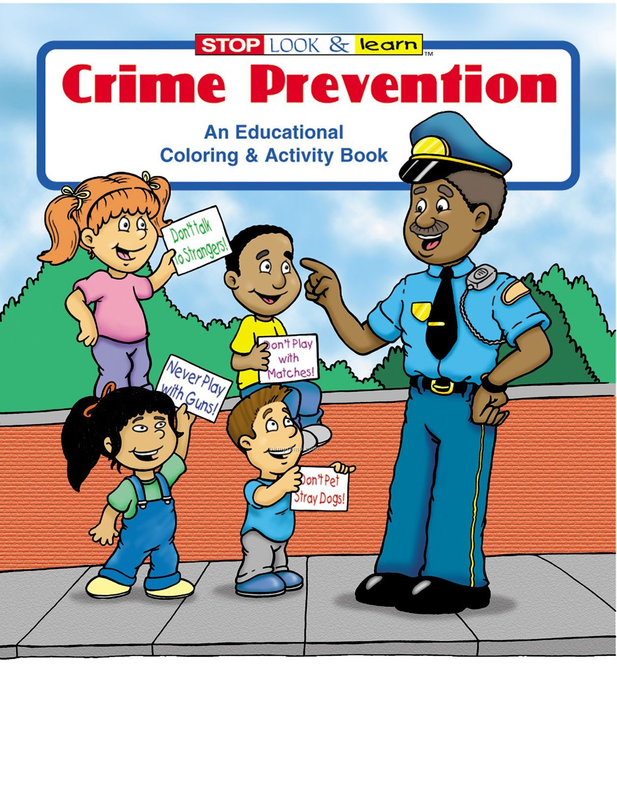 Crime Prevention Coloring Book Fun Pack