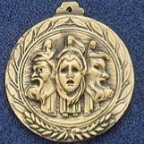 "1.5"" Stock Cast Medallion (Drama)"