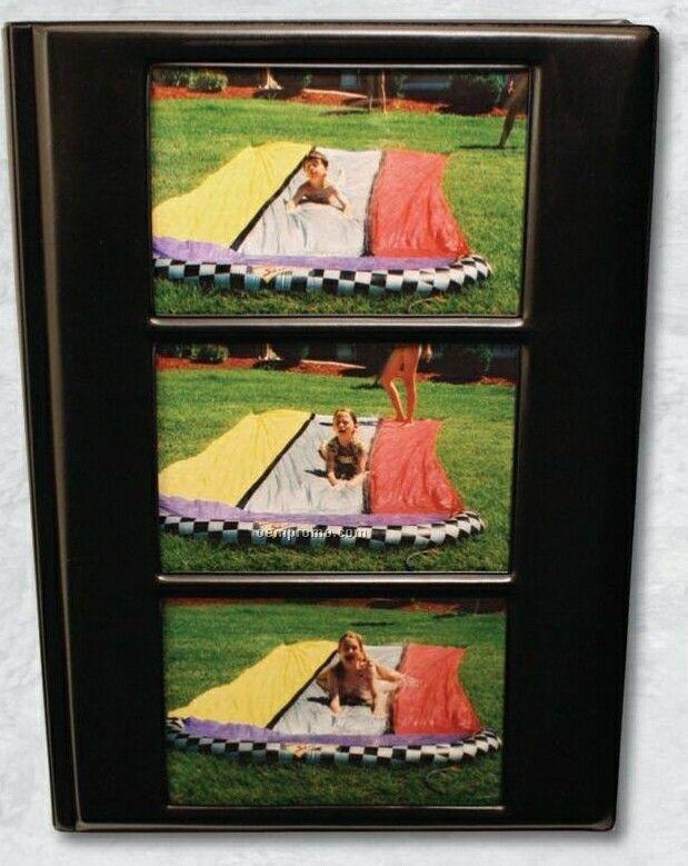 "Picture Folder W/ Exterior 3 Horizontal 4""X6"" Photos"