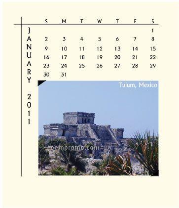 2011 Desk Jewel Case Calendar - World Vision