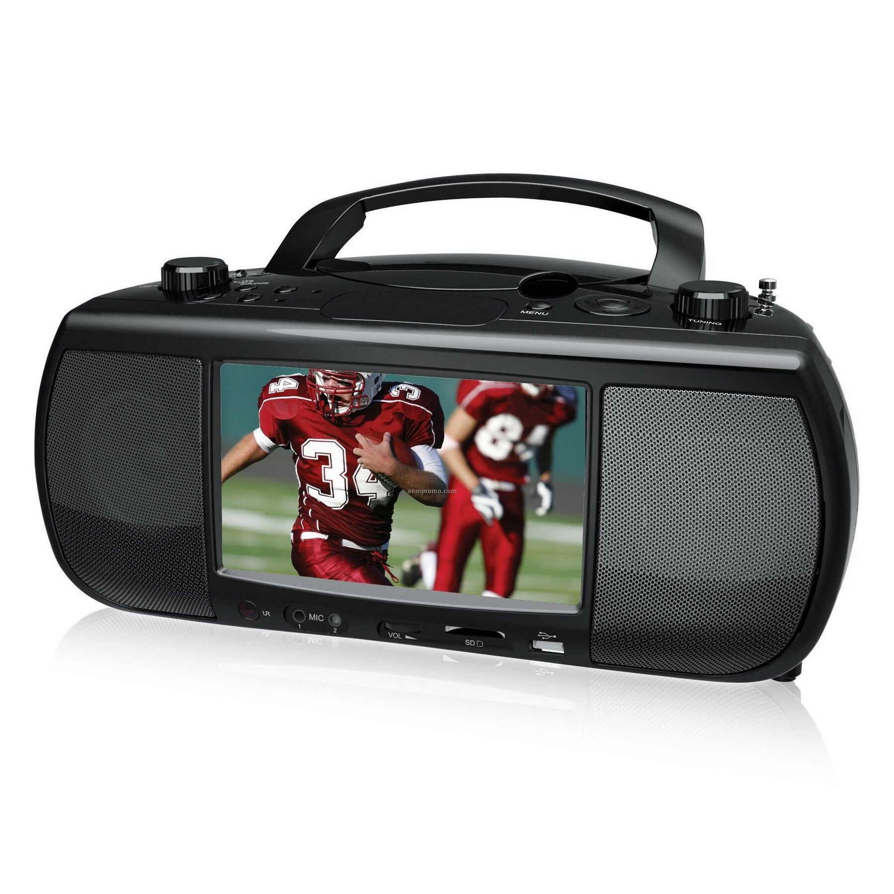 "Portable Digital Tv + DVD/CD Mini System,China Wholesale 7"" Portable ..."