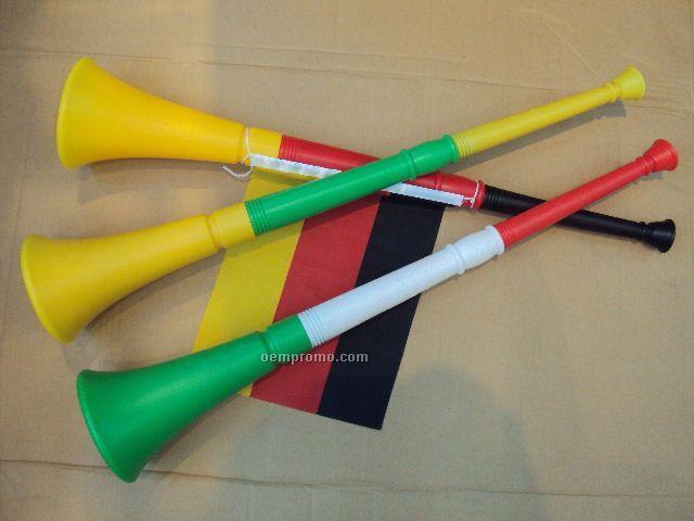 Three Pieces Vuvuzela Plastic Horn, Stadium Horn, Soccer Sport Horn