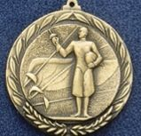 "2.5"" Stock Cast Medallion (Fencing)"