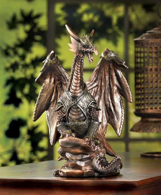 Dragon Warrior Statue