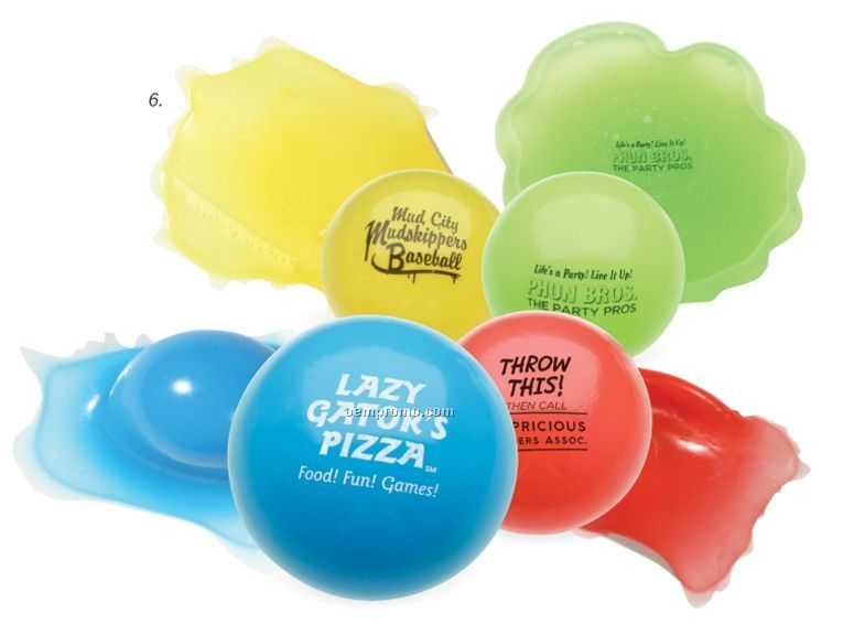 Toss N` Splat Amoeba Gel Ball