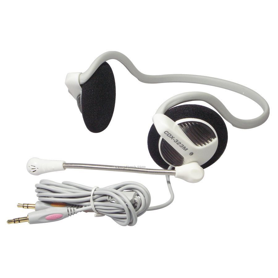 Voip Headset W/ Microphone