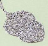 Silver Plated Victorian Tart Server