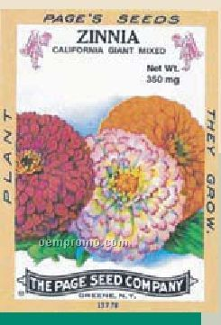 Antique Series Zinnia Flower Seeds
