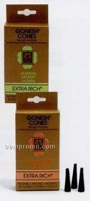 Gonesh Extra Rich Incense Cones Jasmine